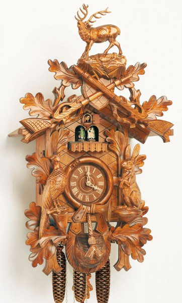 Large hunter clock