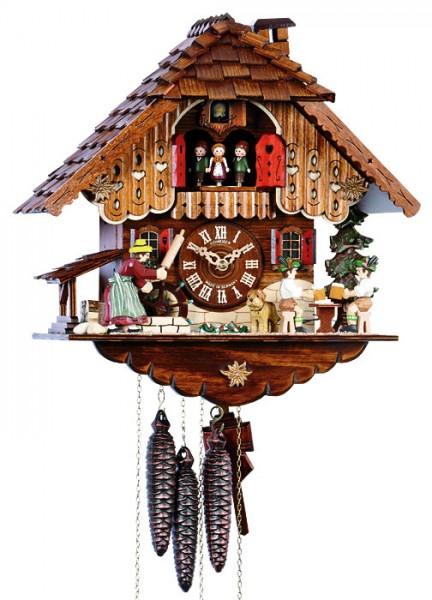 The rolling pin cuckoo clock