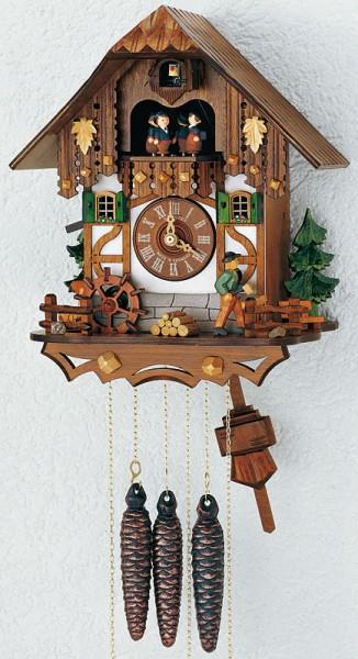 Lumberjack cuckoo clock