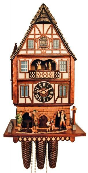 8-day cuckoo clock: Townhall City of Alsfeld