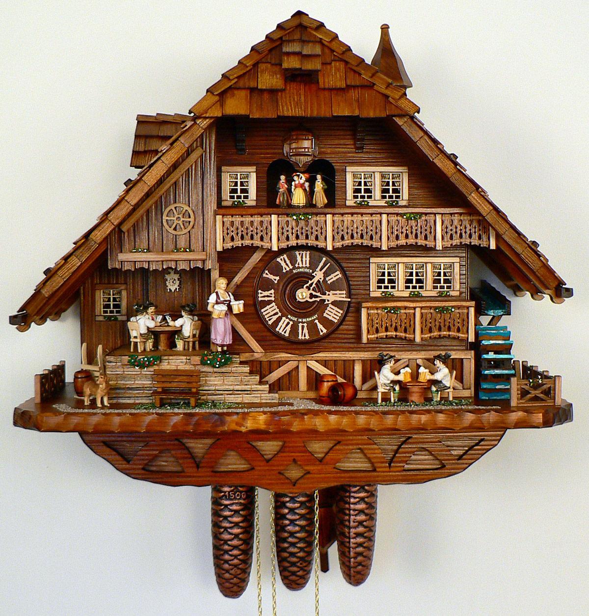 Cuckoo Clock Of The Year 2014 House Of Clocks German