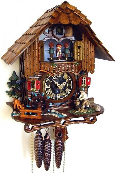 Lumberjack house