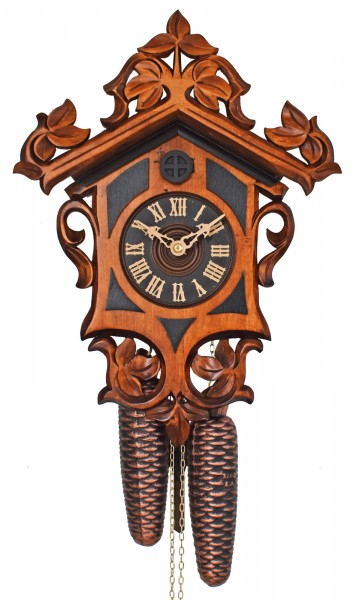 Baroque style cuckoo clock